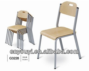 high school furniture classroom chairs(G3228)