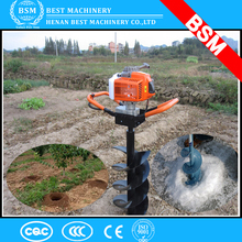 portable hole digger machine/post hole digger hand tool/earth drilling machine