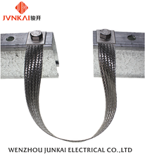 China manufacturer hot sales flexible copper braided straps bonding jumper for solar mounting system