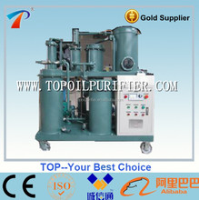 Series TYF Phosphate Ester Fire-Resistant oil cleaning , Oil Regenerator, Oil Filter