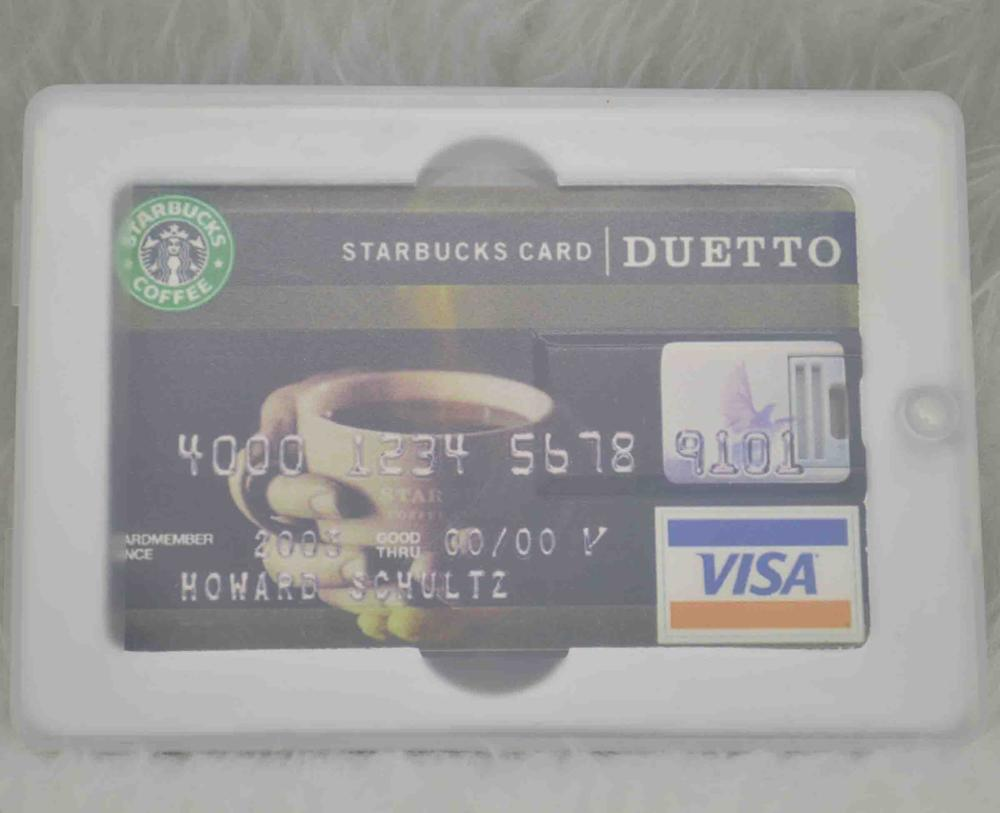 Wholesales customized LOGO 2GB-64GB Credit Card USB Flash Drive 2.0 for Kingston