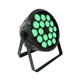 dj equipment china 18*10w 12w rgbw rgbwa 4 in 1 5 in 1 par led mini party light with plastic for night club