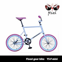 Colorful bmx fixed gear bike, order can mix model and color