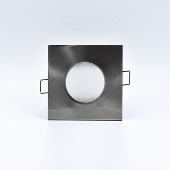 Square 86x86mm Die Casting aluminum alloy led light bulb Housing