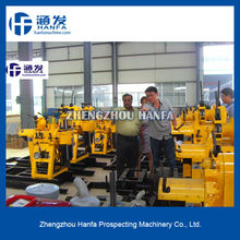 for water well and core drill, hydraulic trailer type HF150 hydraulic crawler rock drill,can drill depth150m