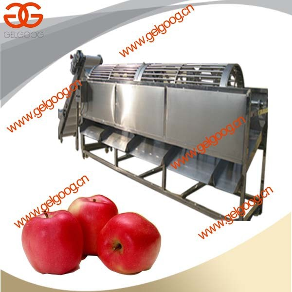 H-quality Machine for Apple Peach Pear Potato Onion Weight Grading Machine |China Made Fruit and Vegetable Washer and Sorter