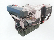 200hp to 300 hp Yuchai marine diesel engines 4 Strokes 6 Cylinders YC6A SERIES with advance gearbox for ship material