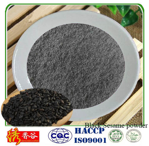 Health food Extract powder/Instant Black sesame seeds powder