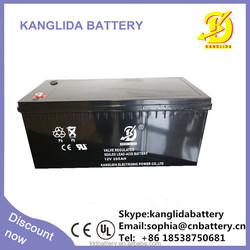 solar energy storage battery 12v200ah rechargeable batteries 200 amp