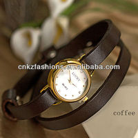 women genuine leather mechanical watches