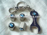 2014 new design colorful alloy coin keychain for gife