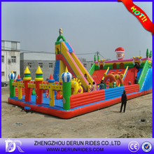 Kids Loved Inflatable Plastic Castle Kids