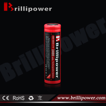 18650 battery 3.7v 2400mah small rechargeable battery/e-hookah rechargeable battery