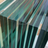 13.14mm tempered laminated glass fence panels