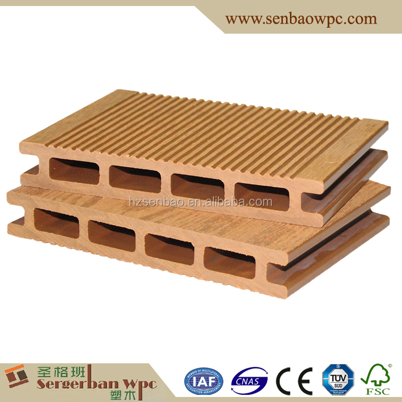 WPC Raw Materials Composite Decking Tiles