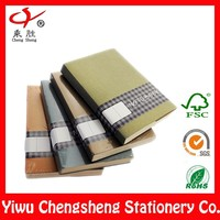 soft cover paper wholesale school notebook