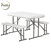 2017 Cheap Folding White Plastic Outdoor Beer Table And Chair