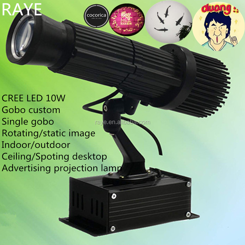 Hot selling LED wall advertising projection light 20W