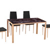 Glass Dining Table And Chairs For