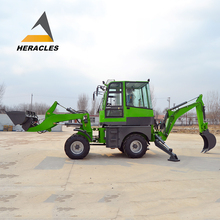 mini tractor front end loader towable backhoe with price