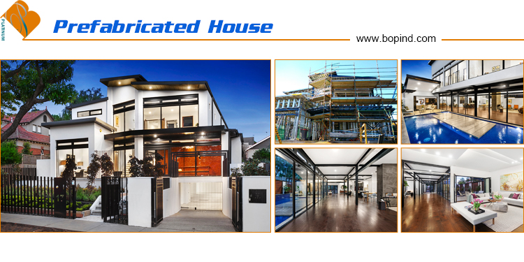 light steel construction prefabricated houses