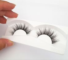 Long Lasting Real Strip 3D Mink Fur Eye Lashes Natural Looking Striking 3D Mink Lashes