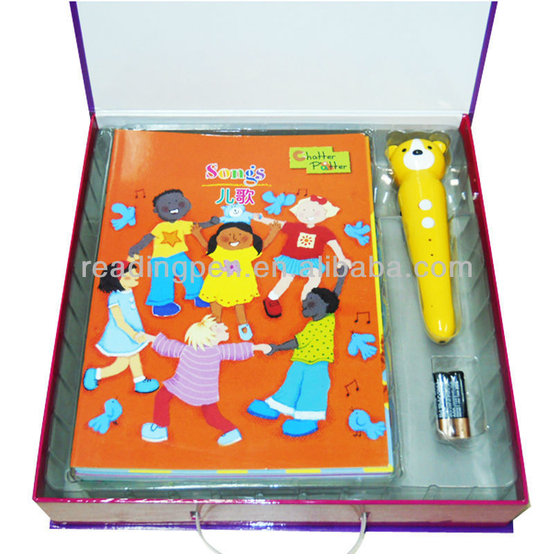 Hot Selling High Quality Children Book Reader Pen Smart Bluetooth Talking Pen