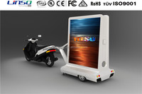 Small Motorcycle Trailer,Advertising Light box Poster Trailer for Scooter&Motorcycle&Bike