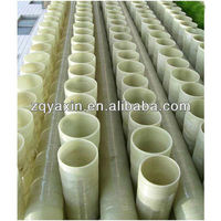 Round high strength and insulation fiberglass pipe for drainage