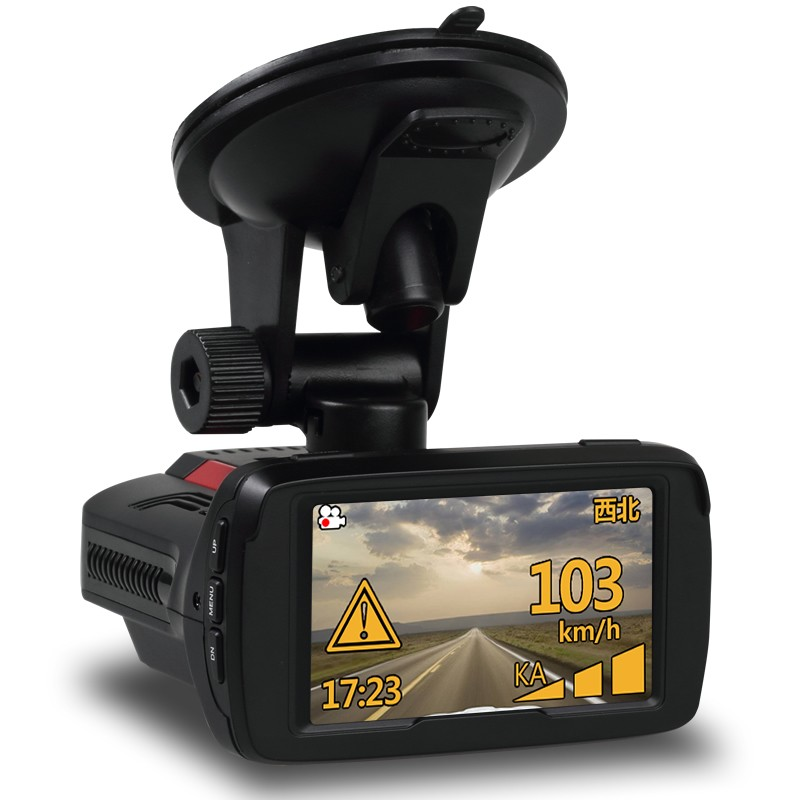 New Ambarella A7LA50 Multi-function car speed recorder 3 in 1 radar detector dash cam in Russia