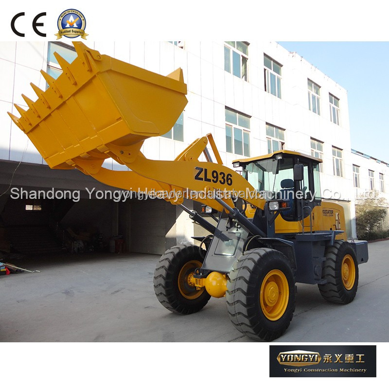 ZL936 china mini loader with snow blower