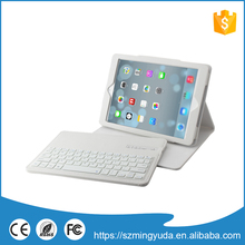 Hot selling product bluetooth keyboard leather case for ipad air