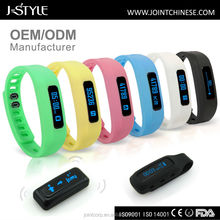 J-Style waterproof pedometer watch multifunctional smart bracelet for IOS & Android