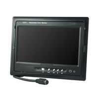7 inch widescreen car monitor with TV7 inch portable slim tft lcd color car monitor with TV,mp3,mp4,USB function