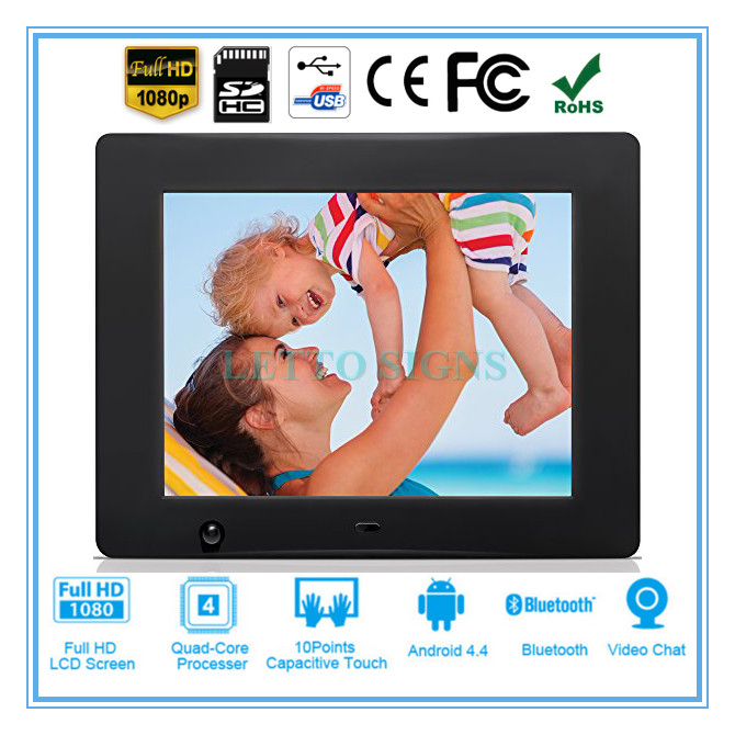 Multifunctional open blue picture video