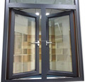 CE approved Aluminium Windows and Doors, double glazed aluminium windows