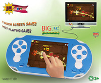 16 Bit Touch Screen 3.5 Inch color LCD handheld video game console TV portable game key playing games