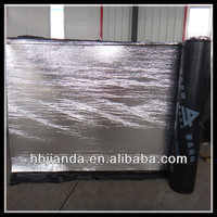 high quality SBS Modified Bitumen Waterproofing Sheet with aluminum foil