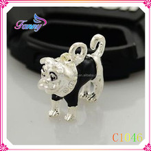 C1046 Top Seller Cute Animal Dangle Origami Owl Dangle Charms For Floating Locket.