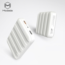 Mini size 12000mAh super high capacity QC3.0 dual USB power bank with a light