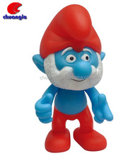 Custom the Smurfs 3D Action Figure Toys Cute TV and Movie Characters
