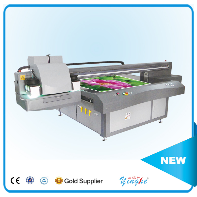 100% warranty Functional Billboard uv led flatbed printer
