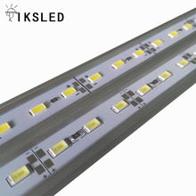 Shenzhen factory hot sale 18W/meter SMD 5630 72 leds/meter 12mm width rigid LED bar light for jewelry show case
