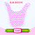 Fashion Christmas Style Cotton Teething Drool Bibs Plain Baby Burp Cloths Dribble bibs for babies