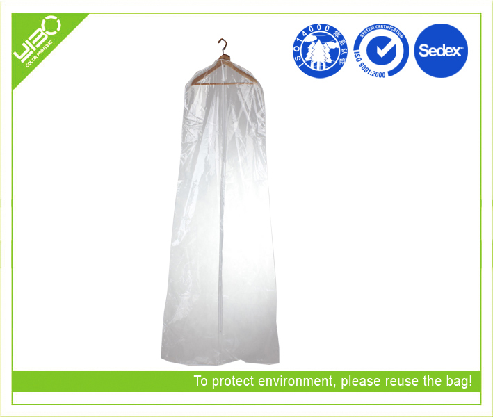 Customized folding reusable dustproof wholesale fabric garment bag s