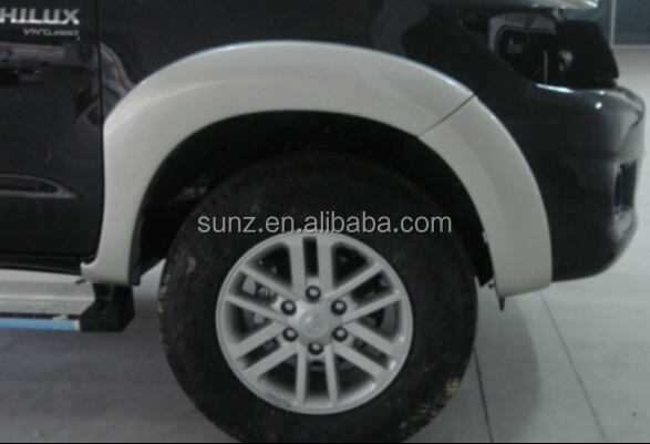 Wholesale Top selling ABS Plastic car fender for Pick up TOYOTA ...