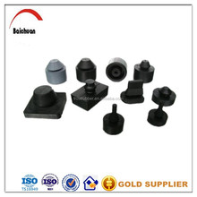 vulcanized rubber product/epdm rubber parts/rubber baffle for sale
