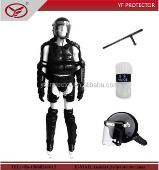 Full body police equipment anti riot gear military supplies
