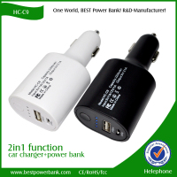 Specical Offer 22000mAh Dual USB car charger 2a output portable power bank