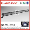Factory price 50Inch 300W 12/24V 3D Lens/3D Optics High Intensity Combo 300w Off Road LED Light Bar for Car Tuning